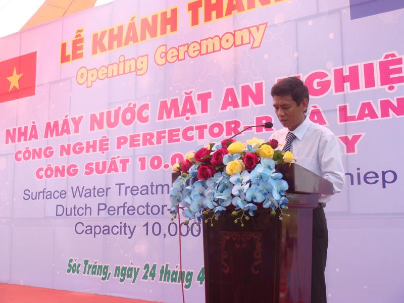 Lễ Khánh thành NM nước mặt